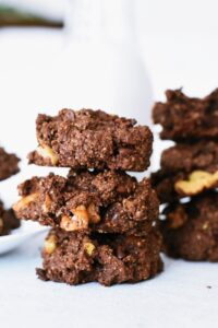 fudge chocolate avocado cookies