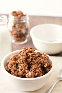 spiced coconut granola