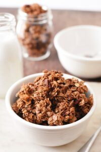 easy spiced coconut granola