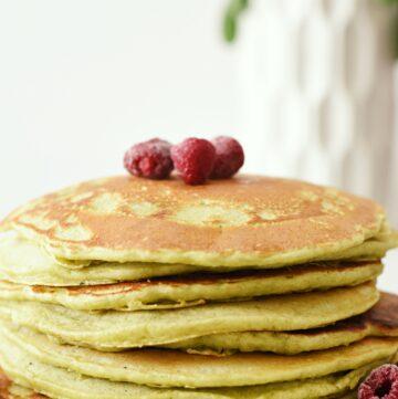 popeye spinach pancakes