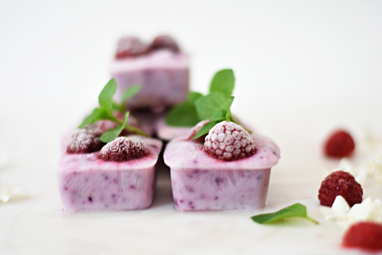 Frozen Yogurt and Chia bites