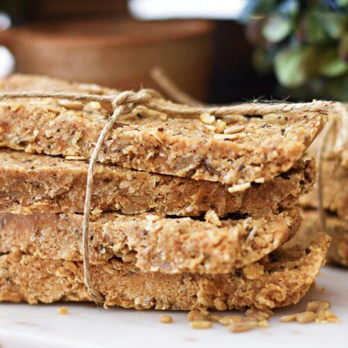 Easy Raw Protein Granola bars