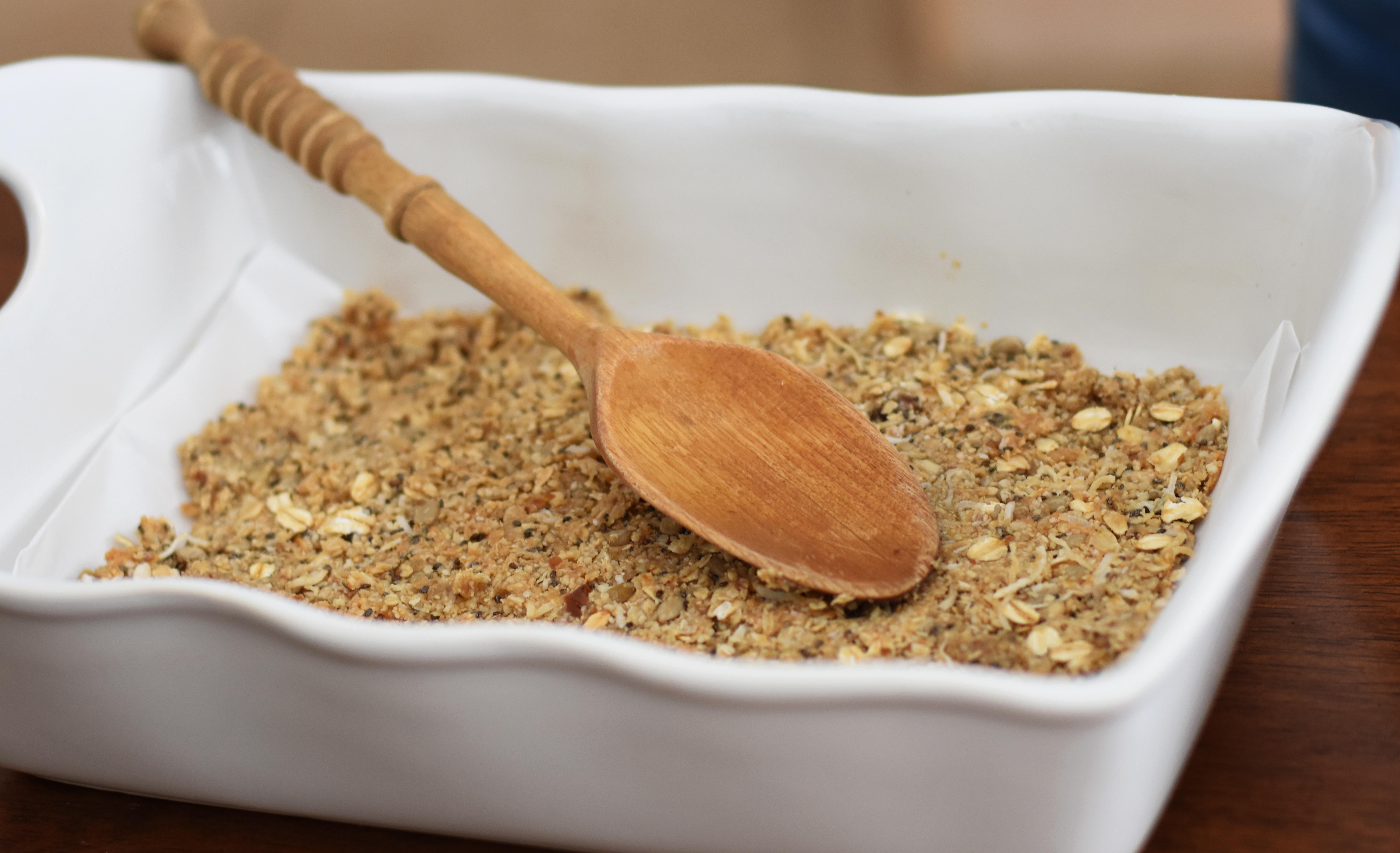 making granola bars