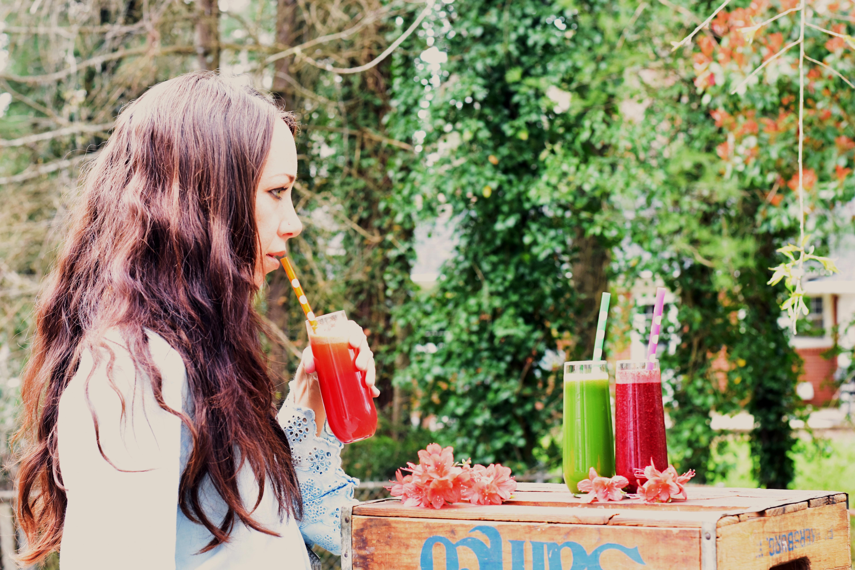 Fresh made juice 3 ways