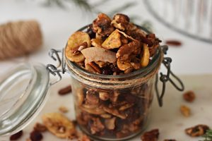 Spiced Maple Trail Mix