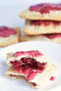 pop tarts with chia jam