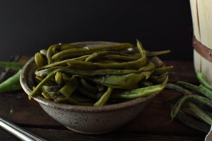 steamed garlic green beans
