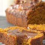 Healthy pumpkin bread