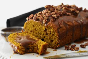 Healthy pumpkin bread