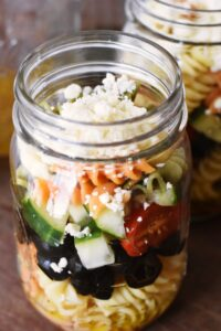 Mason jar salads 3 ways