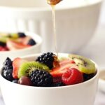 easy fruit salad with dressing