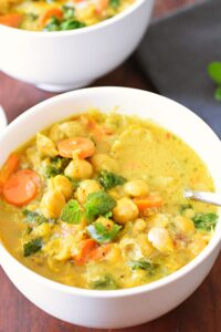Chickpea curry stew