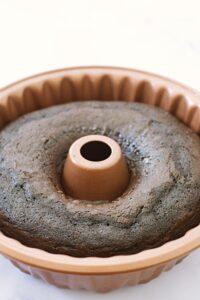 making chocolate Guinness cake