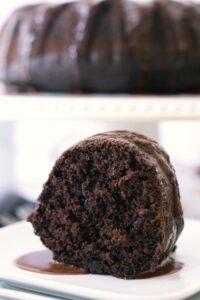 Irish Guinness chocolate cake