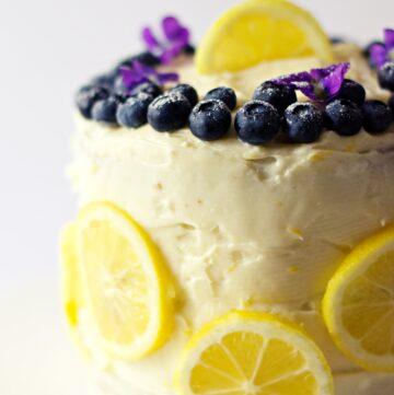 blueberry lemon cake